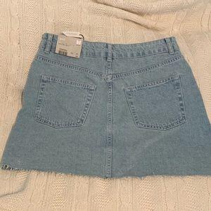 Topshop Skirts - Crystal top shop denim skirt